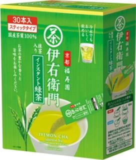 伊右衛門抹茶入りインスタント緑茶スティックタイプ