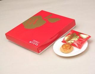 秋田県産りんごを使ったパイ