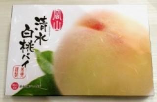清水白桃パイ