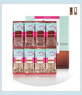 銀のぶどうのチョコレートサンド アーモンド