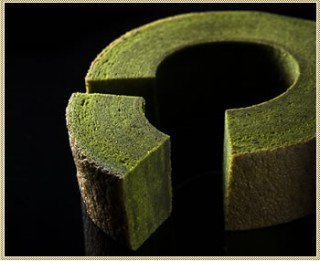 宇治・抹茶畑からの年輪バウム