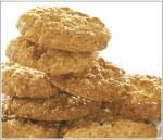 からす麦の焼きたてクッキー