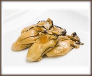 牡蠣のスモークオイル漬け