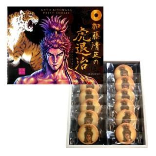 加藤清正の虎退治プリントクッキー