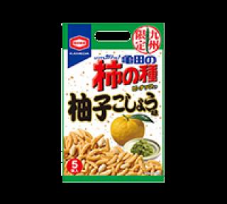 亀田の柿の種 柚子こしょう味