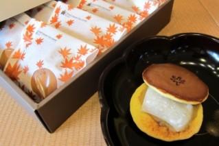 秋の和菓子 秋どら